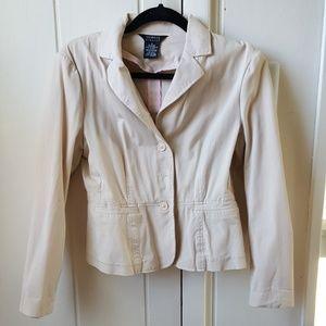Cotton Creme Jacket
